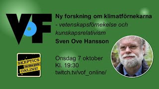 Sven Ove Hansson – Skeptikerpub online oktober 2020
