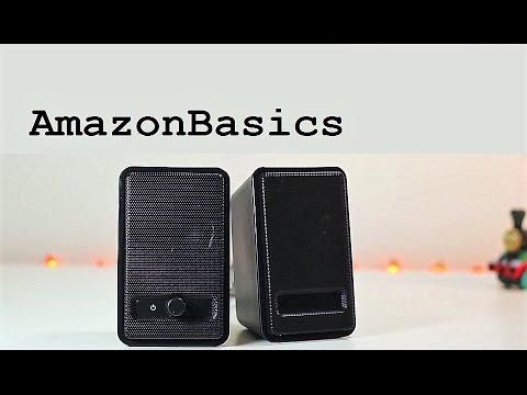 AmazonBasics USB Speakers A100 Review