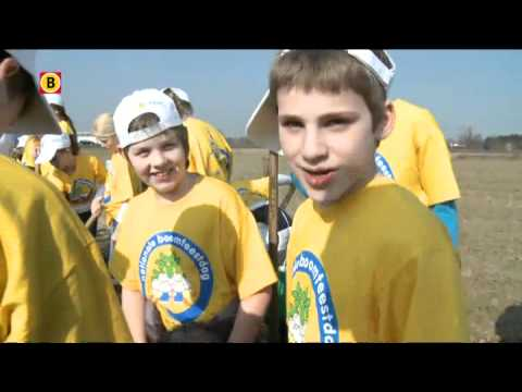 750 kinderen openen Boomfeestdag in Oeffelt