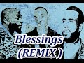 Angel   Blessings (REMIX)  ft  French Montana, Davido (Lyrics)