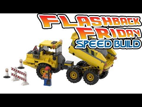 Vidéo LEGO City 7631 : Le camion benne