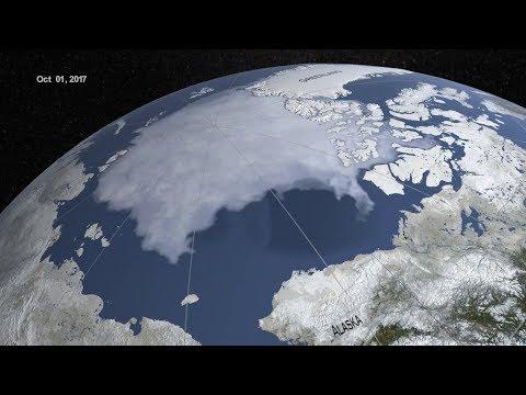 Arktis havsis rekordlåg i år igen