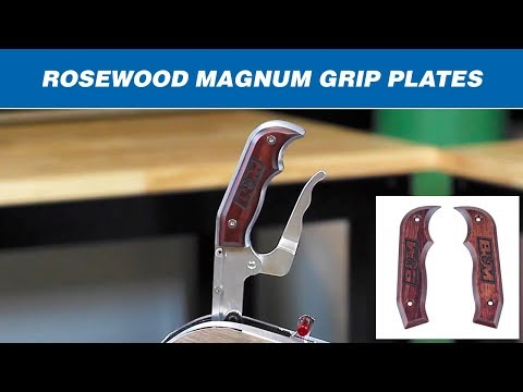 B&M Rosewood Side Plates for Magnum Grip Shifters 81086