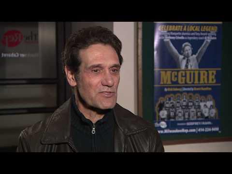 "Milwaukee Repertory Theater's ""McGuire"" - Marquette alumnus/Tony-Award winner Anthony Crivello plays Al McGuire."