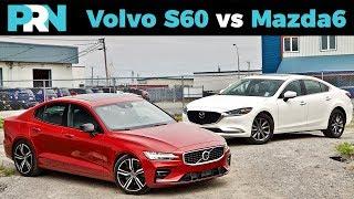 Mazda6 Signature vs Volvo S60 R-Design