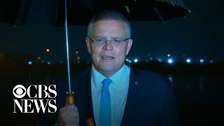 """Ex-Australian leader Bob Hawke """"made Australia stronger,"""" prime minister says"""