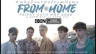 Why Don't We Virtual Concert #WhyDontWeFromHome