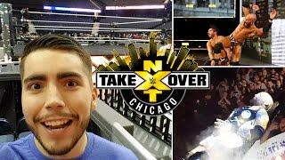 NXT TAKEOVER CHICAGO | Reacción y vlog desde Chicago