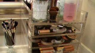 Makeup Collection & Storage~The Clear Cube