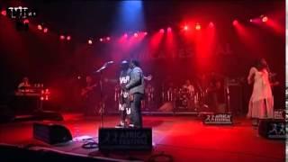 Papa Wemba   Sakana  Rail On feat Lokua Kanza  Maria Valencia en Live