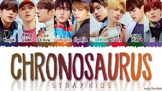 STRAY KIDS (스트레이 키즈) - 'Chronosaurus' Lyrics [Color Coded_Han_Rom_Eng]
