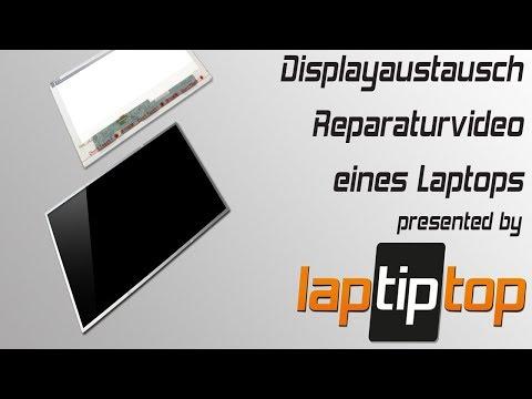 Displaytausch Laptop Screen Replacement Notebook Reparaturtutorial | laptiptop.com