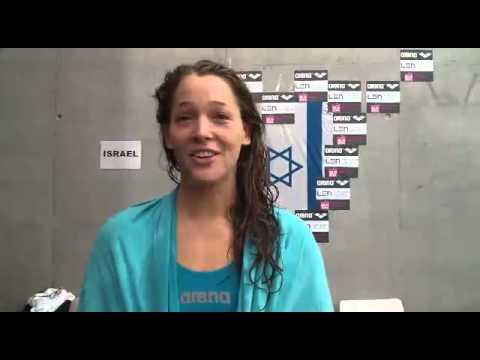 קרן זיבנר לאחר עליה לחצי הגמר לשיא ישראלי