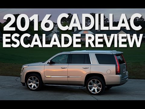 Best Luxury SUV of 2016? Cadillac Escalade Video Review