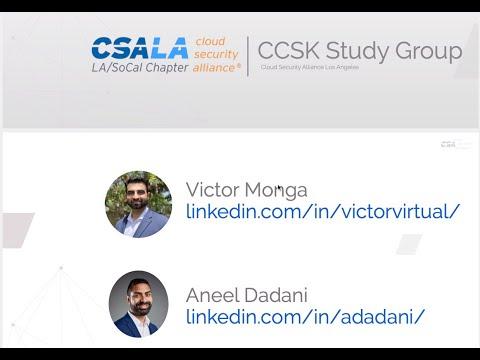 CSA LA CCSK Study Group 05/01/2020 - Week1 - YouTube