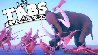 TABS - The Mighty Mammoth! - Totally Accurate Battle Simulator