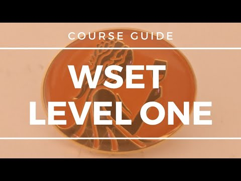 Wine Education - WSET Level 1 - Course Guide - YouTube