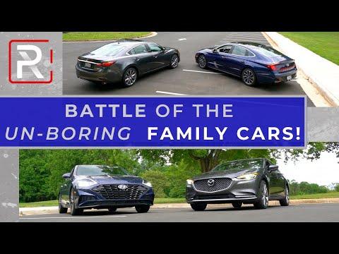 2020 Hyundai Sonata Vs. 2020 Mazda6 – The Stylish Sedan Showdown