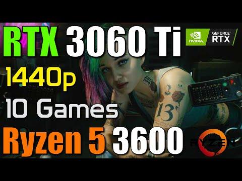 3060 Ti +R5 3600 測試多款遊戲