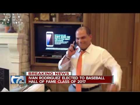Former Tigers catcher Ivan Rodriguez elected to Baseball Hall of Fame
