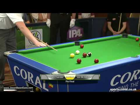 FINAL: IPA Tour: European Open 2016 Dunster v McAllister