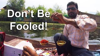 """After Fake Saffron, Indian Scammer Tries to Sell Me """"MALE POWER"""" 🍆 (& How to Buy REAL Saffron)"""