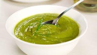 Летний суп-пюре из кабачков за 15 минут. Рецепт от Всегда Вкусно!