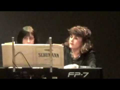 Abendlied - Evening Song, by Robert Schumann Piano, 4 Hands