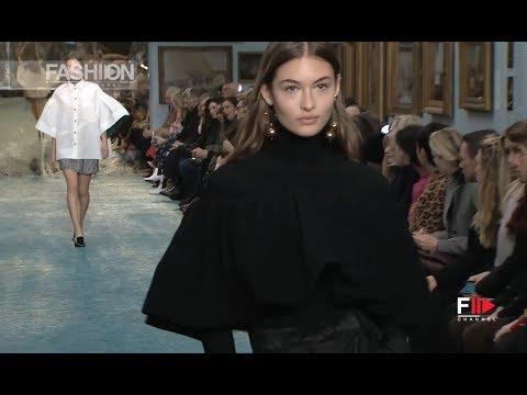 CAROLINA HERRERA Fall 2019 New York - Fashion Channel