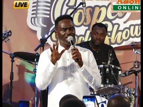 Watch Yaw Sarpong performance at the Adom Gospel Rock Show (7-1-2018)
