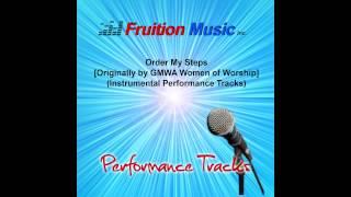 Order My Steps (Low Key) [GMWA Women] [Instrumental Performance Track] SAMPLE