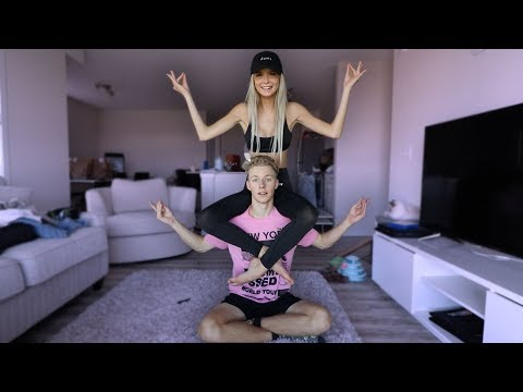 COUPLES YOGA CHALLENGE..