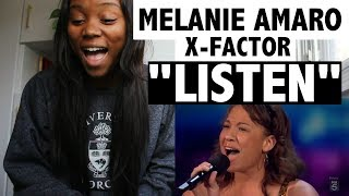 """Melanie Amaro Audition """"Listen"""" by Beyonce (X Factor USA) - REACTION"""