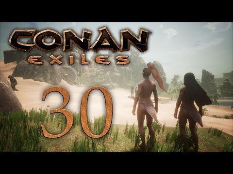 Conan Exiles - прохождение игры на русском - Носороги и слоны [#34]   PC (видео)