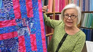Get A Sneak Peak At Some New Kaffe Fassett Fabrics And Quilt Patterns.