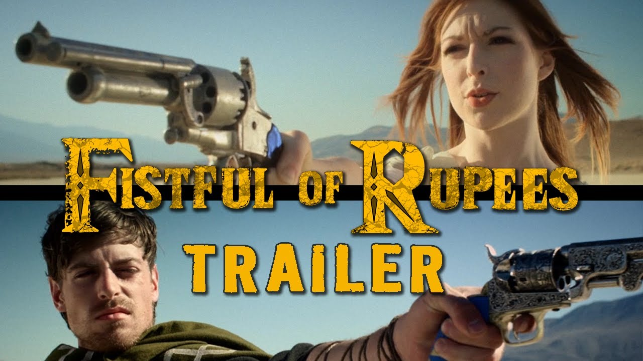First Trailer For Fistful Of Rupees, A Zelda Western