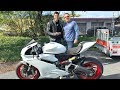 I GAVE AWAY a 959 Ducati Panigale!