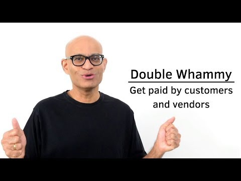 Double Whammy: How to Get Paid by vendors and customers