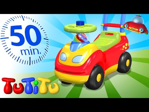 Compilacion TuTiTu en español   Carritos de montar   Y otros juguetes   50 Minutos Compilacion