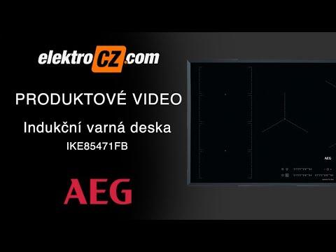 Indukční varná deska AEG IKE85471FB
