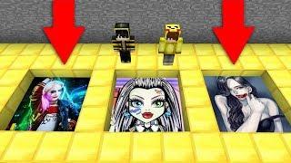 KORKUNÇ YERALTI ALTIN PORTALLARI BULDUM HANGİSİNİ SEÇİCEM? 😱 - Minecraft