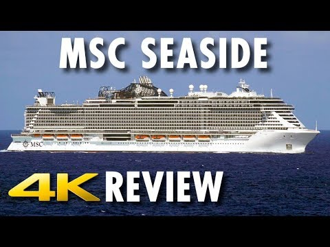 MSC Seaside Tour & Review ~ MSC Cruises ~ Cruise Ship Tour & Review [4K Ultra HD]