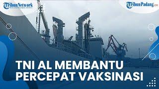 TNI Angkatan Laut Turut Membantu Percepatan Vaksinasi Sumbar, Wagub Audy Mengapresiasi