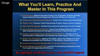 Effective Leadership Agendas Energize Strategic Inspired Performances-F
