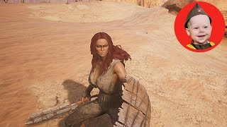 Conan Exiles (2018 PS4 Single Player): Scrubber Goes North (Episode 3)