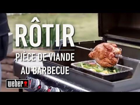 Rôtir une pièce de viande au barbecue à gaz | Les tutoriels et astuces Weber