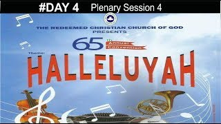 RCCG 65th ANNUAL CONVENTION 2017 #Day 4_ Plenary Session 4