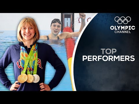 How American swimming hero Katie Ledecky stays focused on Tokyo 2020 | Top Performers