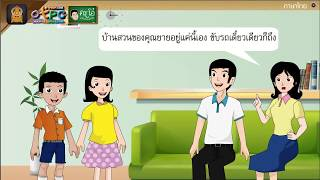 สื่อการเรียนการสอน กลอนกานท์จากบ้านสวน ป.6 ภาษาไทย
