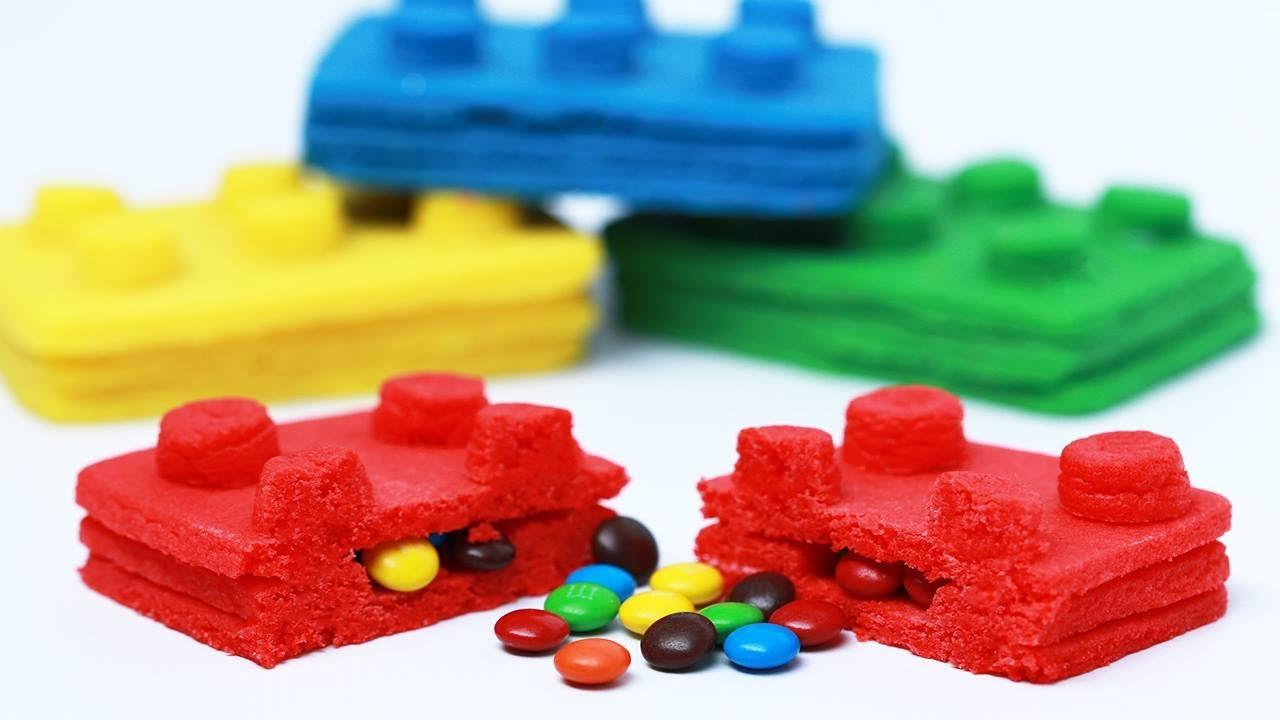 LEGO PINATA COOKIES - NERDY NUMMIES thumbnail